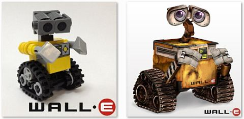 LEGO WALL-E by Miro