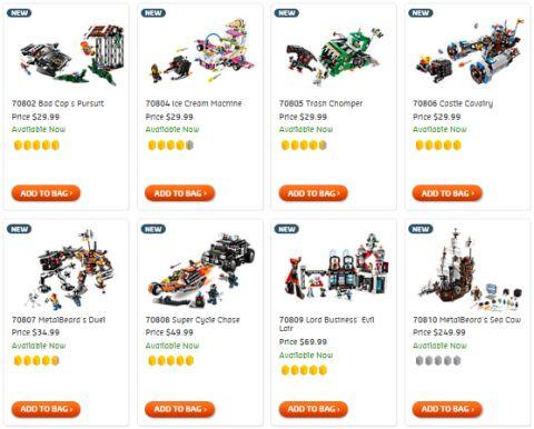 Shop LEGO Movie Sets