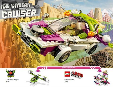 The LEGO Movie Alternate Model 1