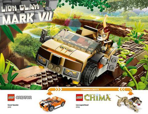 The LEGO Movie Alternate Model 2