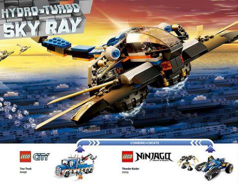 The LEGO Movie Alternate Model 5