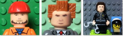 The LEGO Movie Minifigures by minifigME