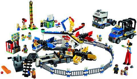 #10244 LEGO Fairground Mixer Details