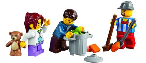 #10244 LEGO Fairground Mixer Minifigs