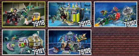2014 LEGO Teenage Mutant Ninja Turtles