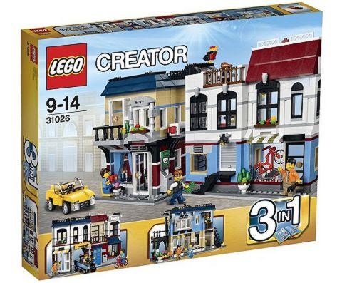 #31026 LEGO Creator Bike Shop & Cafe Box