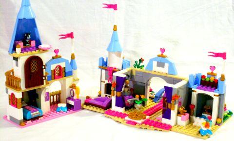 #41055 LEGO Cinderella's Castle Inside