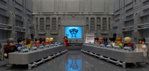 LEGO Exo-Suit Meeting by Andrew Hamilton
