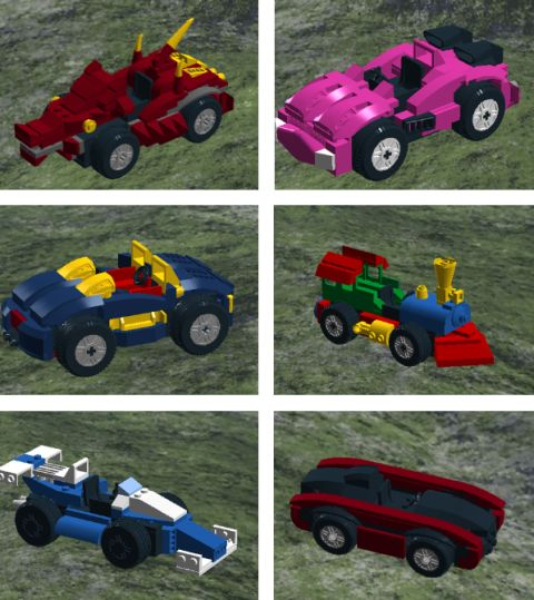 Customizable LEGO Cars Variety by Lucas Colon