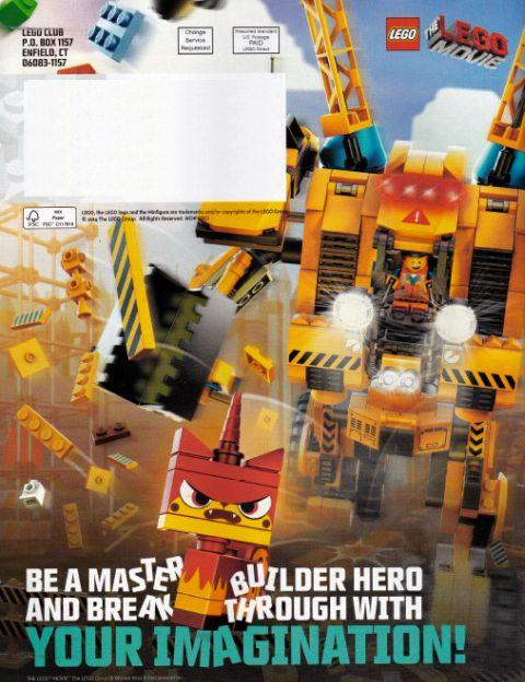 LEGO Club Magazine Constructo-Mech