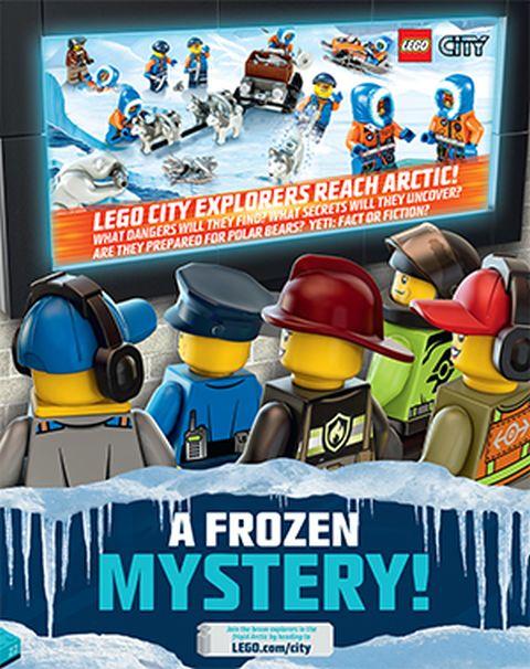 LEGO Club Magazine LEGO Arctic