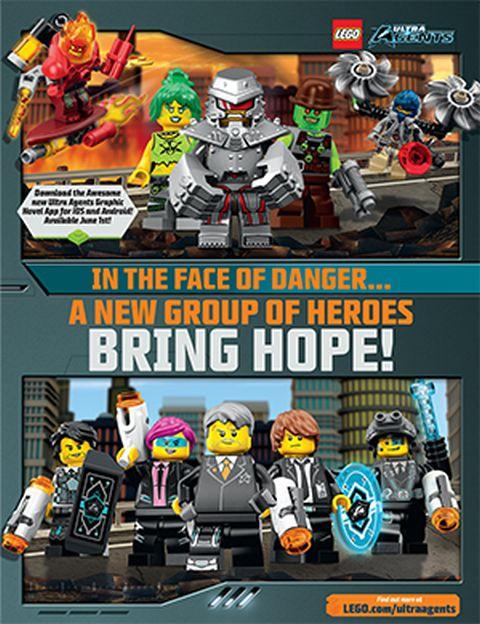 LEGO Club Magazine LEGO Ultra Agents