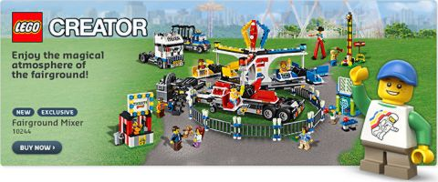 LEGO Fairground Mixer Available