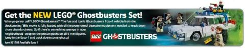 LEGO Ghostbusters Coming in July