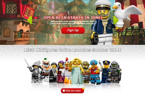LEGO Minifigures Online Game Beta