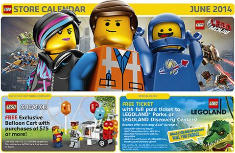 LEGO Shop June LEGO Sales