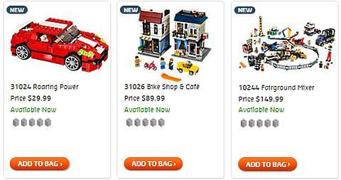Shop 2014 LEGO Creator