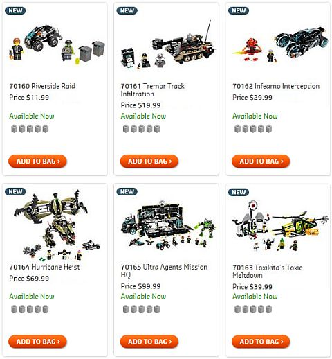 Shop LEGO Ultra Agents