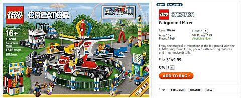 Shop for LEGO Fairground Mixer