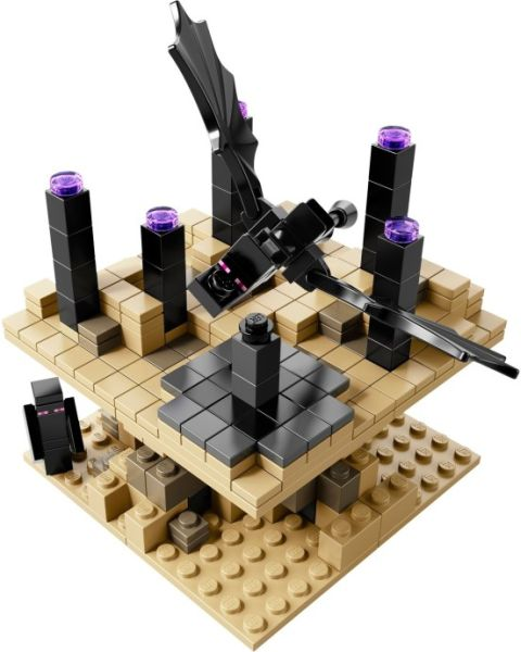 #21107 LEGO Minecraft The End Details