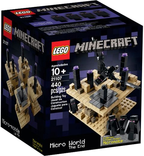 #21107 LEGO Minecraft The End Review