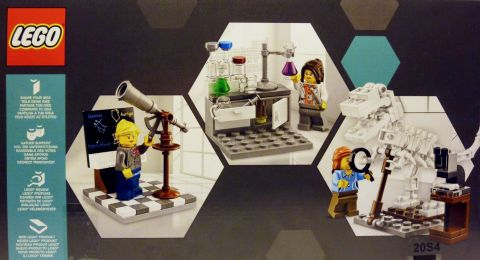 #21110 LEGO Research Institute Box