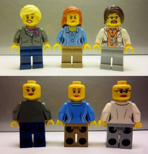 #21110 LEGO Research Institute Minifigures