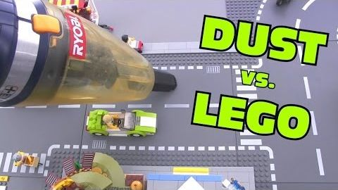 Dusting LEGO