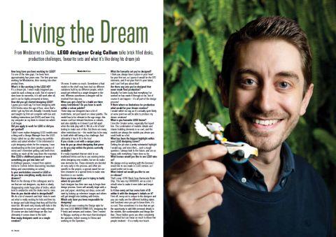 LEGO Blocks Magazine Designer Interview