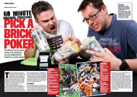 LEGO Blocks Magazine Launching Today