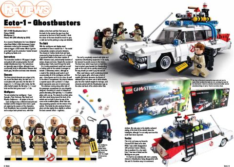 LEGO Blocks Magazine Review