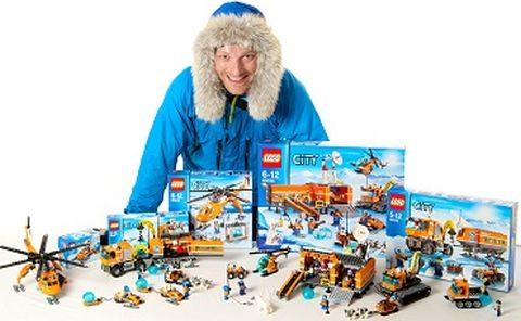 Polar Explorer Ben Saunders Launches the LEGO City Arctic  range