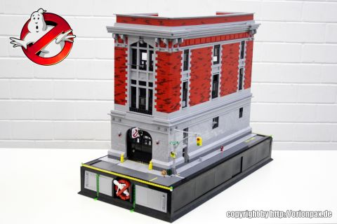 LEGO Ghostbusters Firehouse by OrionPax