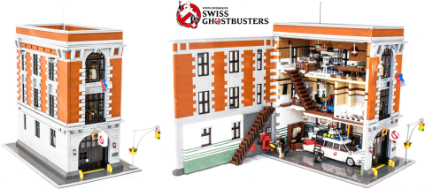 LEGO Ghostbusters by Sergio512