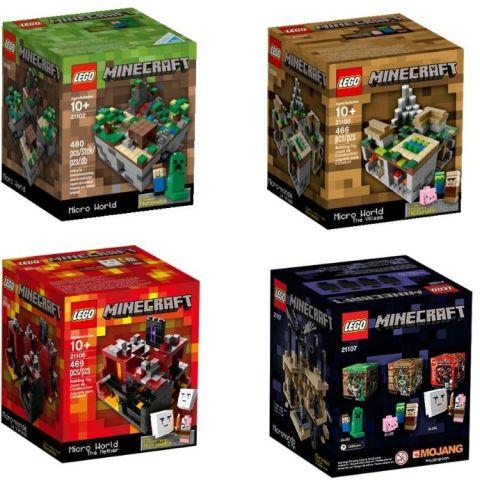 LEGO Minecraft Micro World Collection
