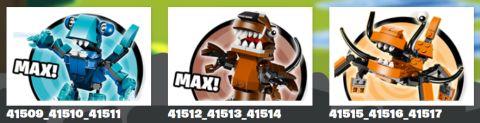 LEGO Mixels Series 2 Max Instructions