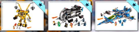 LEGO Movie Summer Sets