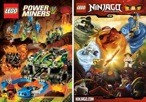 LEGO Power Miners & LEGO Ninjago