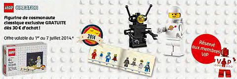 LEGO Shop Offers Europe July