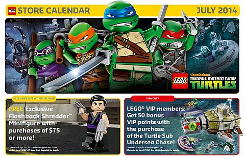 LEGO Shop Offers July