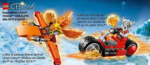 LEGO Shop Promotions Europe July