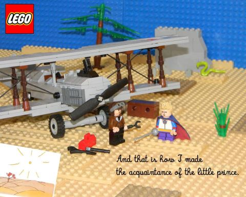 LEGO The Little Prince Project