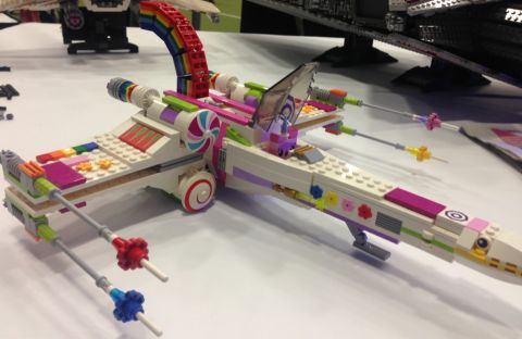 LEGO X-wing Unikitty