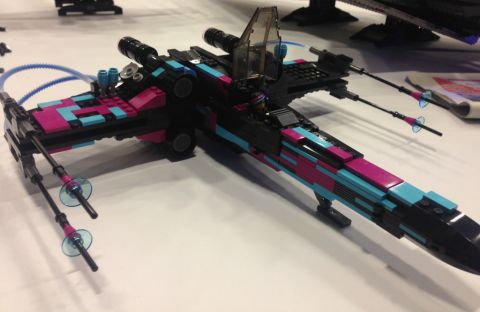 LEGO X-wing Wyldstyle