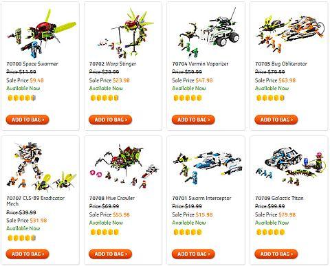Shop LEGO Galaxy Squad