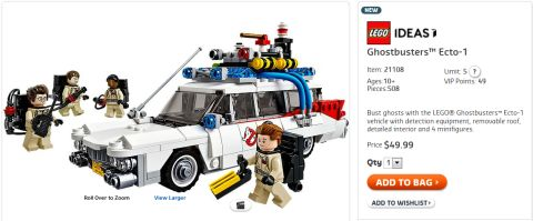 Shop LEGO Ghostbusters Set