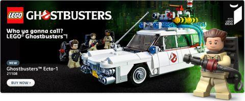 Shop LEGO Ghostbusters