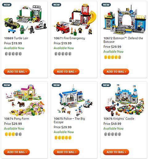 Shop LEGO Juniors