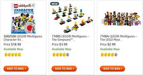 Shop LEGO Minifigure Series