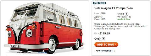 Shop LEGO VW Camper